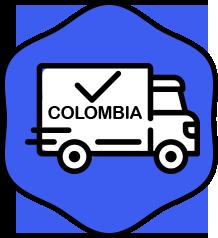Envíos a todo Colombia